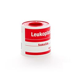 Leukoplast Deksel Poreus Kleefpleister 5cm x 5m 1 Stuk