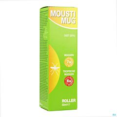 Moustimug Original 20% DEET Roller 50ml