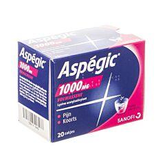 Aspegic 1000mg 20 Zakjes