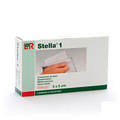 Stella 1 5x5cm 40 Kompressen