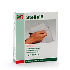 Stella 5 10x10cm 12 Kompressen