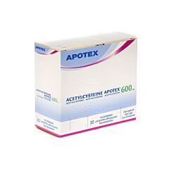 Acetylcysteine Apotex 600mg 30 Bruistabletten