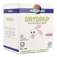 Ortopad Regular Wit Volwassenen Oogpleister 50 Stuks