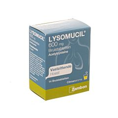 Lysomucil 600mg 14 Bruistabletten