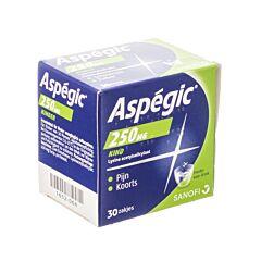 Aspegic 250mg 30 Zakjes