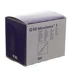 BD Microlance 3 Naald 18g 1/2 Sb 1,2mm 40mm Roze 100 Stuks
