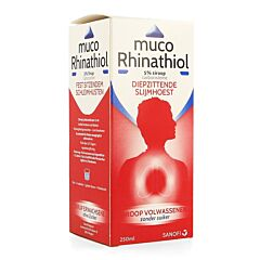 Muco Rhinathiol Volwassenen Zonder Suiker 250ml