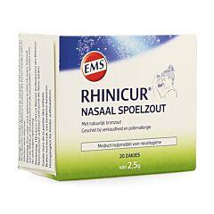 Rhinicur Nasaal Spoelzout 20 Zakjes