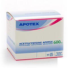 Acetylcysteine Apotex 600mg 60 Zakjes
