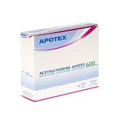 Acetylcysteine Apotex 600mg 14 Zakjes