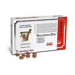 Pharma Nord Selenium + Zinc Promo 90+30 Tabletten GRATIS