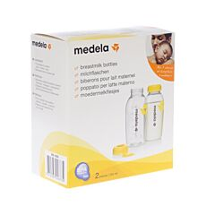 Medela Moedermelkflesje 250ml 2 Stuks
