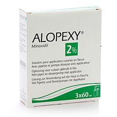 Alopexy 2% Liquid 3x60ml