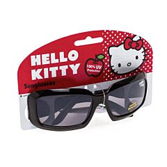 Hello Kitty Zonnebril Vierkant Zwart 1 Stuk