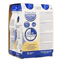 Fresubin 2kcal Fibre Drink Abrikoos-perzik Easybottle 4x200ml