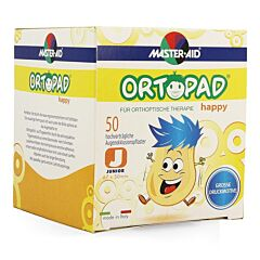 Ortopad Happy Junior Oogpleister 50 Stuks