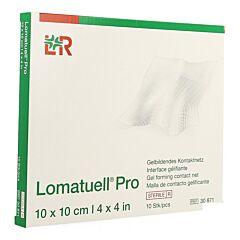 Lomatuell Pro 10x10cm Steriel 8 Stuks