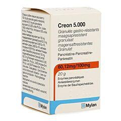 Creon 5000 Maagsapresist Granulaat 20g