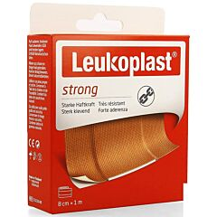 Leukoplast Strong 8cmx1m 1 Stuk