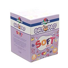 Ortopad Soft Girls Oogpleisters - 76x54mm - 50 Stuks