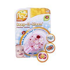 Raz Baby Keep It Clean Fopspeenhouder Roze 1 Stuk