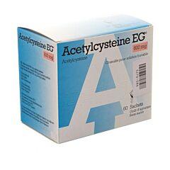 Acetylcysteine EG 600mg 60 Zakjes