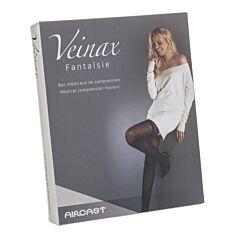 Veinax Panty Grote Diamant 2 Lang Zwart Maat 2 1 Paar