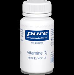 Pure Encapsulations Vitamine D3 400IE 60 Capsules