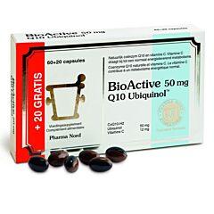 Pharma Nord Bio Active Q10 50mg 60+20 Capsules