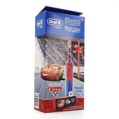 Oral-B Elektrische Tandenborstel Cars + Etui 1 Stuk