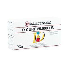 D-Cure 25.000 I.E. 12 Capsules