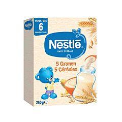 Nestlé Baby Cereals 5 Graansoorten 250g