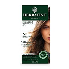 Herbatint 6D Permanente Haarkleuring - Donker Goud Blond 150ml