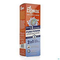 Elimax Pure Power Vetvrije Lotion Anti-Luizen/Neten 100ml NF