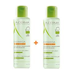 A-Derma Exomega Control Reinigingsgel 2in1 Duo 2x500ml Promo 2de -50%