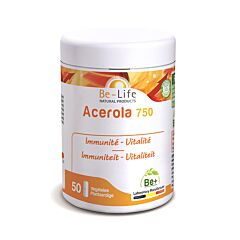 Be-Life Acerola 750 50 Capsules