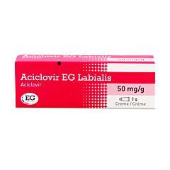 Aciclovir EG Labialis Crème 2g