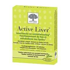 New Nordic Active Liver 30 Tabletten