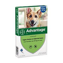 Advantage Hond 400 Spot-On Anti-Vlooien 25-40kg 4x4ml