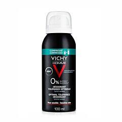Vichy Homme Deodorant 48u Optimale Tolerantie 100ml