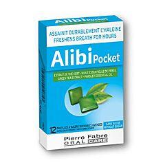 Alibi Pocket Frisse Adem 12 Zuigtabletten