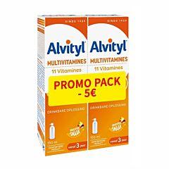 Alvityl Multivitamine Drinkbare Oplossing 2x150ml Promo - €5