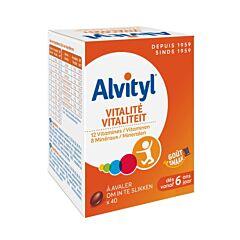Alvityl Vitaliteit 40 Tabletten
