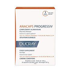 Ducray Anacaps Progressiv Anti-Haaruitval 30 Capsules