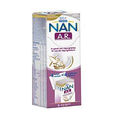 Nan A.R. Melkpoeder 0-12 Maanden 4x26,2g Zakjes