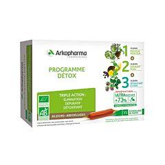 Arkofluides Bio Detoxprogramma 30 Ampoules