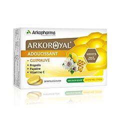 Arkoroyal Propolis Papaïne/ Honing - Citroen 24 Pastilles