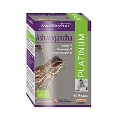 MannaVital Ashwagandha Platinum 60 V-Capsules