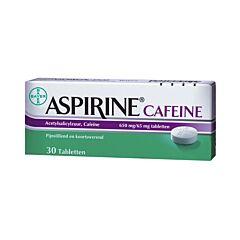 Aspirine Cafeïne 30 Tabletten