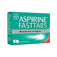 Aspirine Fasttabs 500mg 20 Tabletten